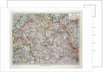 Map of the Northern Part of Bavaria Germany 1899 by Anonymous