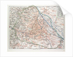 Map of Vienna Austria 1899 by Anonymous