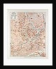 Map of the Centre of Vienna Austria 1899 by Anonymous