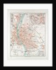 Map of Budapest Hungary 1899 by Anonymous