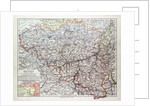 Map of Belgium 1899 by Anonymous