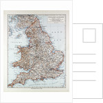 Map of England and Wales 1899 by Anonymous