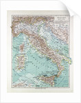 Map of Italy 1899 by Anonymous