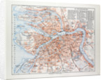 Map of St. Petersburg Russia 1899 by Anonymous