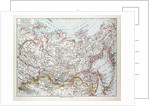 Map of Siberia Russia 1899 by Anonymous