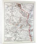 Map of Tanzania Kilimanjaro 1899 by Anonymous