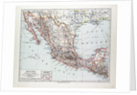 Map of Mexiko 1899 by Anonymous