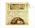 The Stag in the Ox Stall the Deer and the Lion by Anonymous