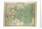 Map of Fontainebleau France by Anonymous