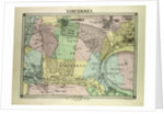 Map of Vincennes France by Anonymous