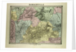 Map of Romainville France by Anonymous