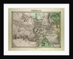 Map of Versailles France by Anonymous