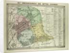 Map of 19th Arrondissement Des Buttes Chaumont Paris France by Anonymous