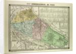 Map of the 16th Arrondissement De Passy Paris France by Anonymous