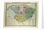 Map of the 7th Arrondissement Du Palais Bourbon Paris France by Anonymous