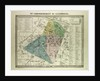 Map of the 6th Arrondissement Du Luxembourg Paris France by Anonymous