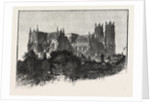 Beverley Minster, from the North-East. by Anonymous