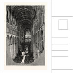 Beverley Minster, the Nave, Looking East. by Anonymous