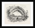 Derby, Ruined Arch Leading to Vestibule of the Chapter-House by Anonymous