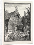 Bede-House, with Rectory Chimney. by Anonymous