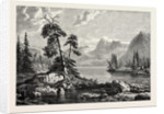 A View on the Hardanger Fjord by Anonymous