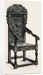 A Scrowled Chair by Anonymous