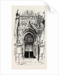 Door of Seville Cathedral, Spain by Anonymous