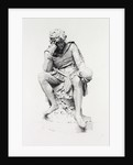 Hamlet, from the Statue by Lord Ronald Gower, Etching by Anonymous
