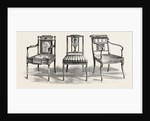Chairs, 1793 1802 by Anonymous