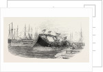Catastrophe at a Ship-Launch at Hull 1854 by Anonymous