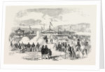 Commencement of the Smyrna and Aïdin Railway Turkey 1854 by Anonymous
