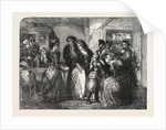 The Arrest of Louis XVI and His Family at Varennes in June 1791. From the Exhibition of the Royal Academy 1854 by Anonymous