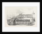 Honours Paid to the Remains of Captain Hyde Parker by the English French and Turkish Troops 1854 by Anonymous