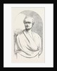 Marble Bust of the Late Sir Robert Peel. by Anonymous