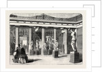 The Greek Court at the Crystal Palace Sydenham 1854 UK by Anonymous