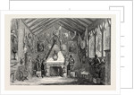 The Oldham Lyceum Educational and Industrial Exhibition the Baronial Hall 1854 by Anonymous