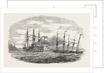 The French Screw Steamer Charlemagne Passing the Castles of Europe and Asia by Anonymous