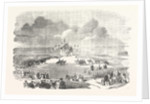 The Grand Military Mass at the Camp at Honvault Near Boulogne 1854 by Anonymous