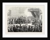 Opening of the Cape Parliament in the State Room Cape Town 1854 South Africa by Anonymous