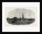 New Route to Belgium: The Aquila Steamship Leaving Antwerp 1854 by Anonymous