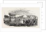Opening of the Great North of Scotland Railway the Huntly Station 1854 by Anonymous