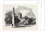 The Chantry Memorial Norton Near Sheffield 1854 by Anonymous