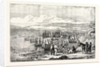 The Crimean War: Varna Bay: The Allied Fleet Getting Under Way for the Crimea 1854 by Anonymous