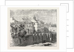 Gaol at Lewes in which the Russian Prisoners Are Confined 1854 by Anonymous