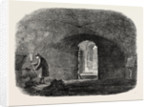 Subterranean Chamber Old Fish-Street St. Paul's London 1854 by Anonymous