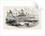 Her Majesty's Visit to Hull and Grimsby: Embarkation of Her Majesty at Hull 1854 by Anonymous