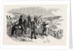 The Crimean War: Lord Raglan and General Canrorert Visiting the French Outposts Opposite Sebastopol 1854 by Anonymous