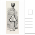 Monumental Pillar on Beechey Island to the Memory of Lieutenant Bellot and Other Explorers 1854 by Anonymous