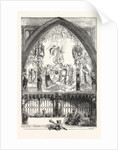 Allegorical Picture Painted for the Inauguration Dinner of the Lord Mayor in the Guildhall London 1854 by Anonymous