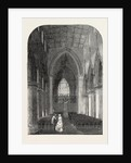 Interior of St. George's Church, Doncaster, UK, 1853 by Anonymous